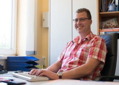 Geschäftsführer Andreas Huber